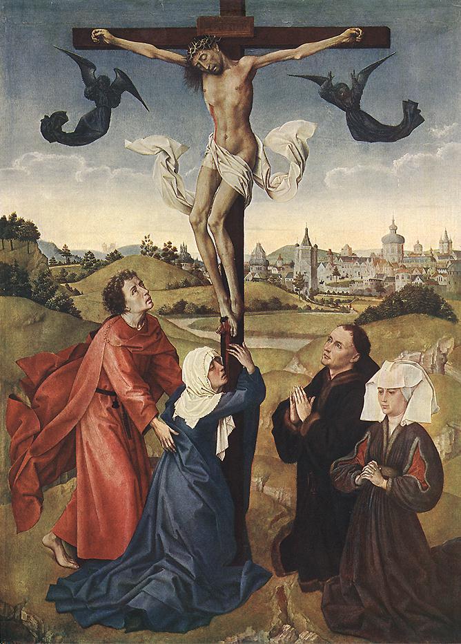 Crucifixion Altarpiece, c. 1445