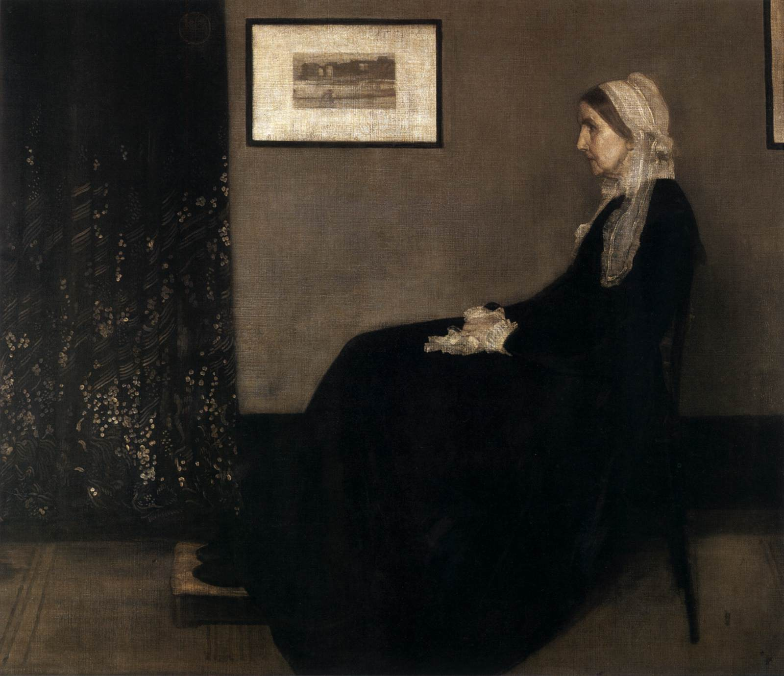 The Artist S Mother By Whistler James Abbot Mcneill
