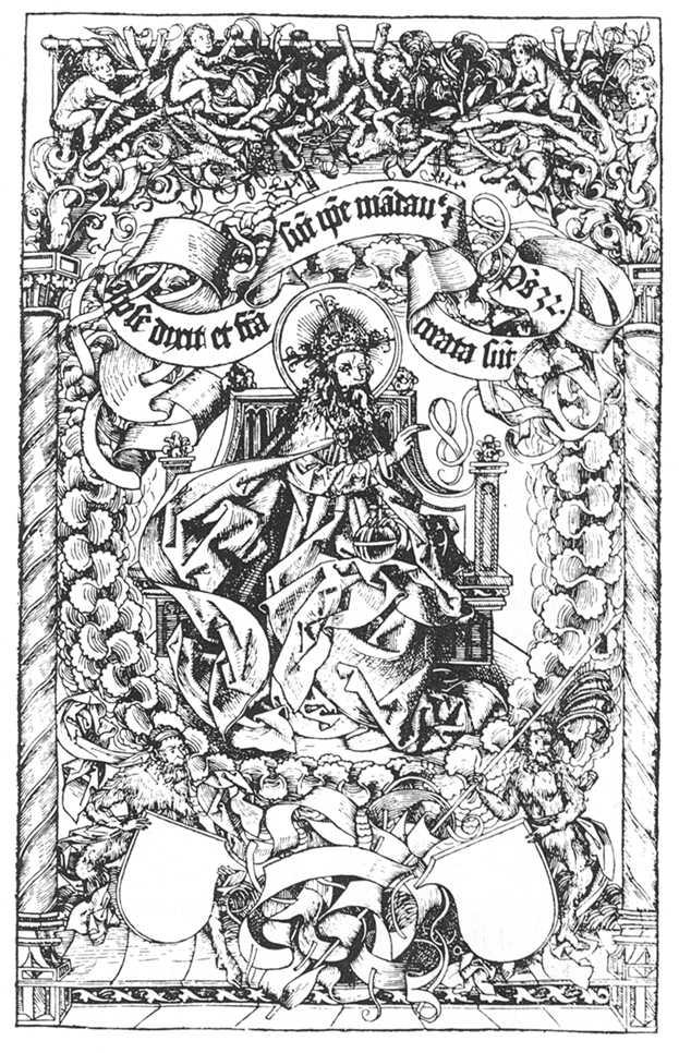 Nuremberg Chronicle Nuremberg Chronicle God The
