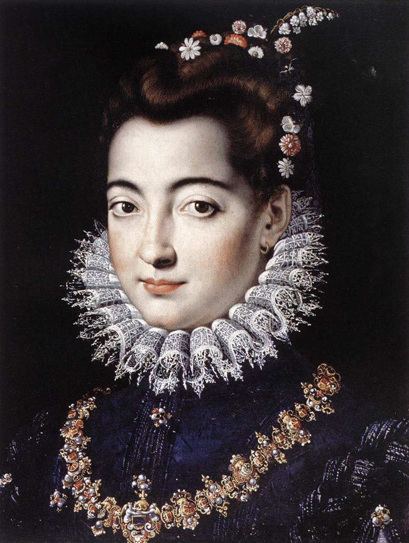 portrait of a lady by zucchi jacopo
