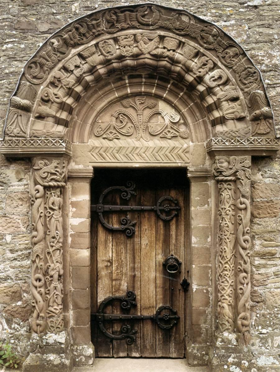 Romanesque portals english catalan etc 1134 1167 for Door of stone