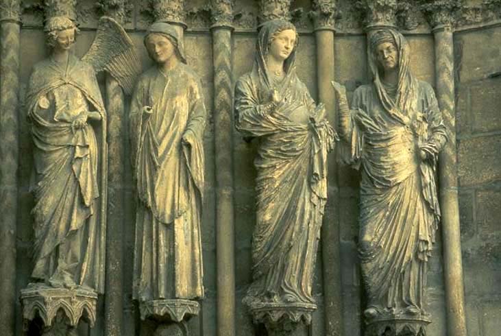 Reims Cathedral Sculpture Cathedral Reims