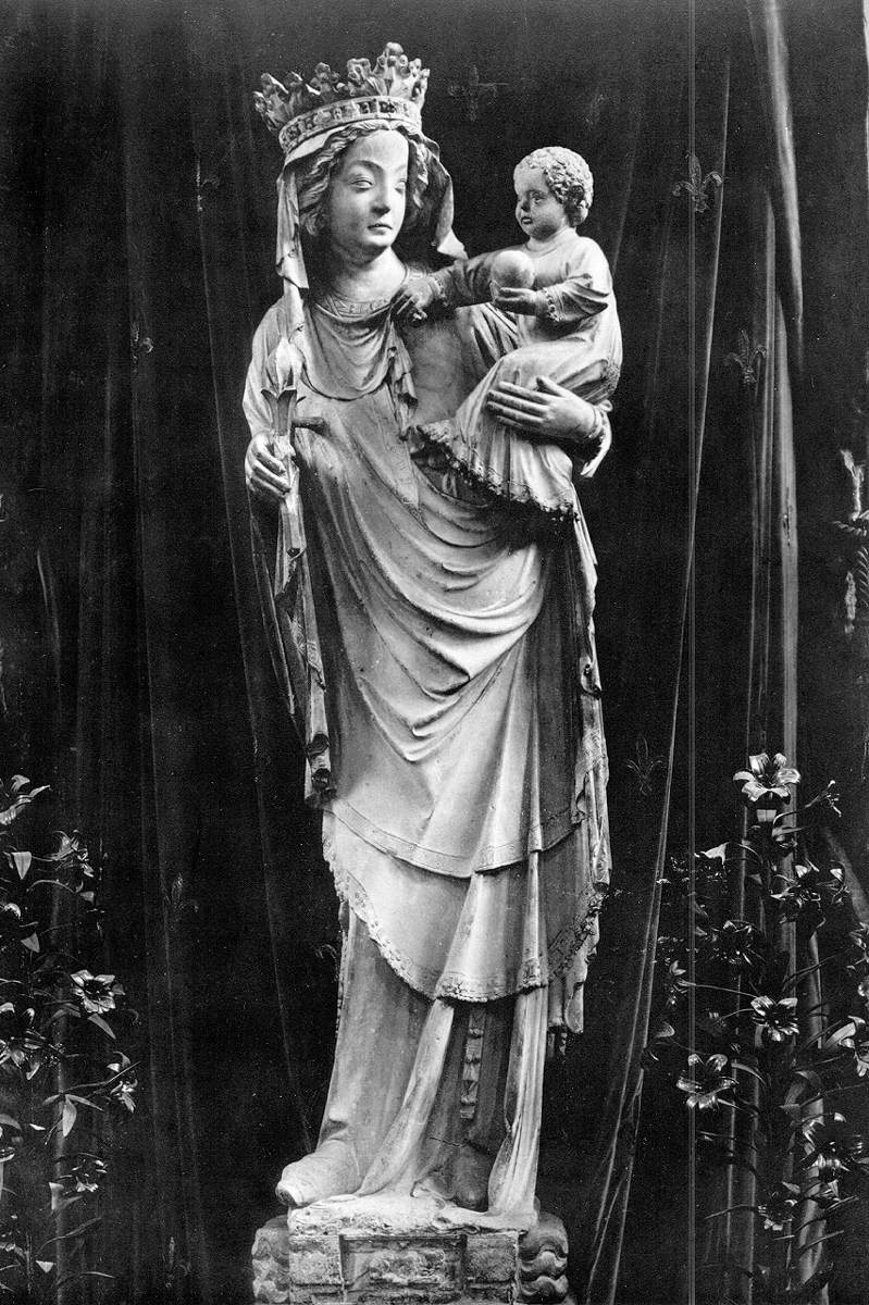 Virgin and Child by MEDIEVAL SCULPTOR, French