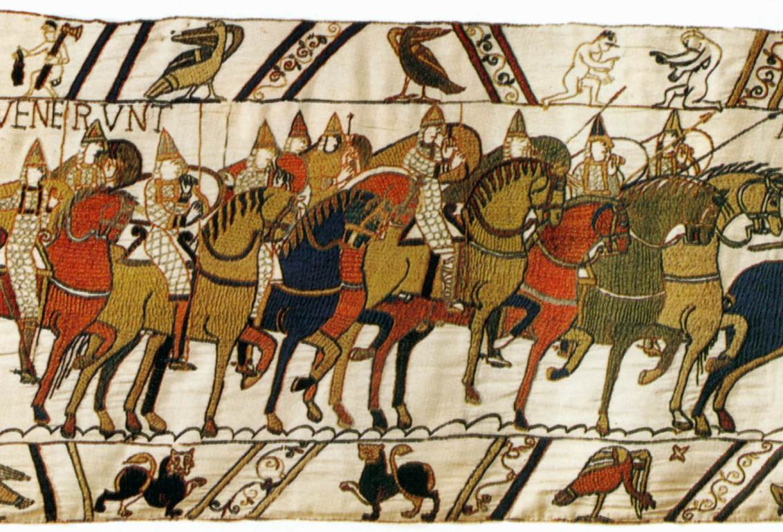bayeux tapestry All about the bayeux tapestry, normandy, france, and how to visit it, by jane  fisher.