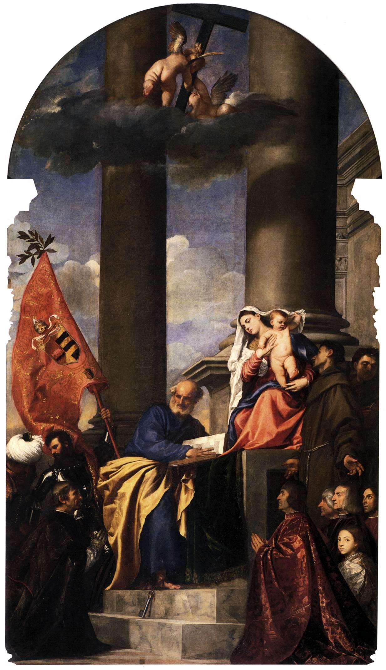 Madonna of the Pesaro Family Titian