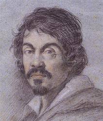 Portrait of Caravaggio by Ottavio Leoni