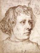 Portrait drawing by Hans Holbein the Elder, 1511
