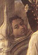 Presumed self-portrait from the Barbadori Altarpiece