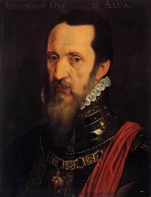Portrait of Ferdinand Alvarez de Toledo