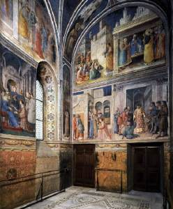 Frescoes in the private chapel of Pope Nicholas V by Fra Angelico