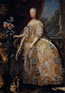 Marie Leszczynska, Queen of France by Carle van Loo