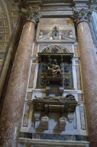 Tomb of Pope Innocent VIII by Antonio Pollaiolo